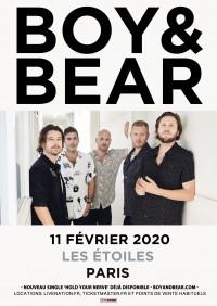 Boy & Bear aux Étoiles
