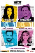 Donnant-donnant au Théâtre de Paris