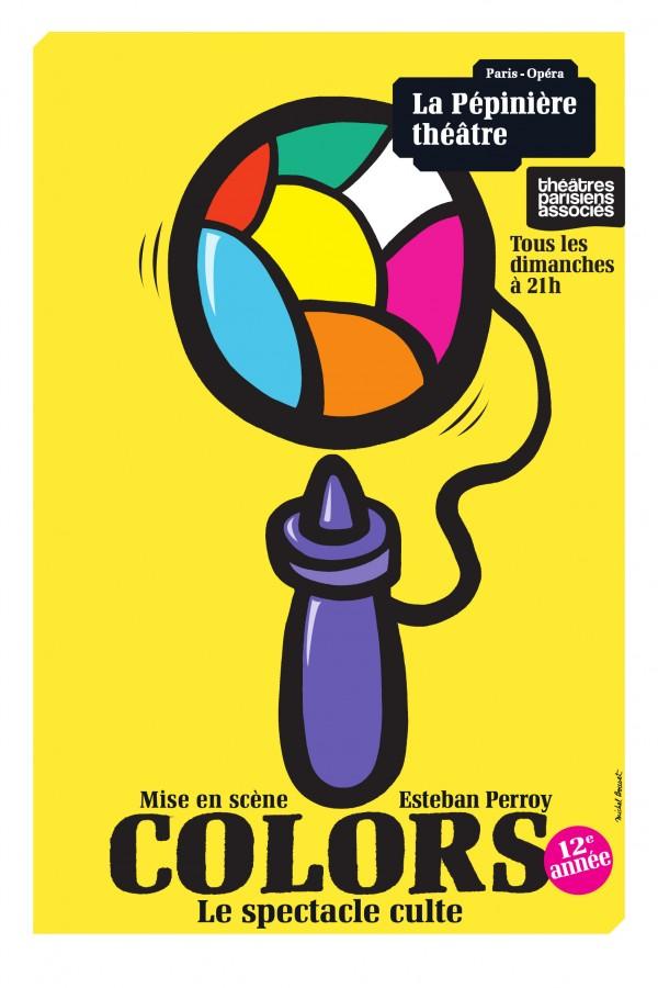 Colors à La Pépinière Théâtre