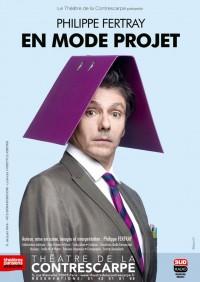 Philippe Fertray en mode projet au Théâtre de la Contrescarpe