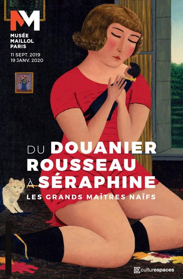 Affiche de l'exposition Du Douanier Rousseau à Séraphine