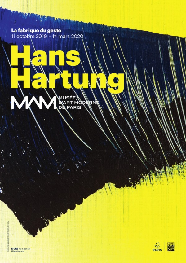 Hans Hartung, La fabrique du geste au Musée d'Art Moderne