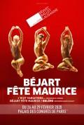 Béjart fête Maurice au Palais des Congrès de Paris
