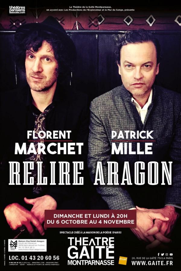 Relire Aragon au Théâtre de la Gaîté-Montparnasse