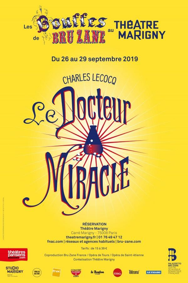 Les Bouffes de Bru Zane - Le Docteur Miracle au Théâtre Marigny