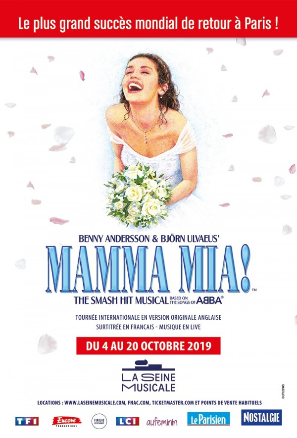 Mamma Mia ! à la Seine Musicale