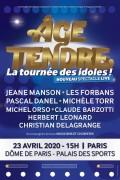 « Âge tendre, la tournée des idoles » au Palais des Sports