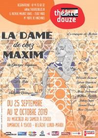 La Dame de chez Maxim au Théâtre douze
