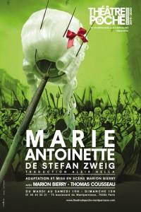 Marie-Antoinette au Théâtre de Poche-Montparnasse