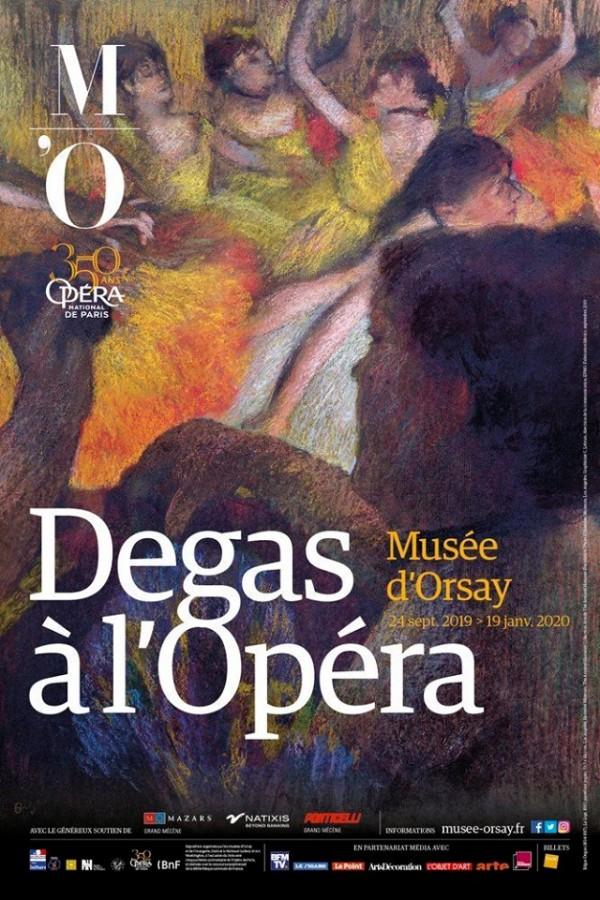 Degas à l'Opéra au Musée d'Orsay