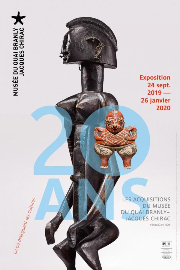 20 ans : Les acquisitions du musée du Quai Branly - Jacques Chirac