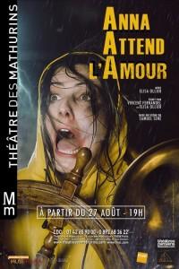 Anna attend l'amour au Théâtre des Mathurins