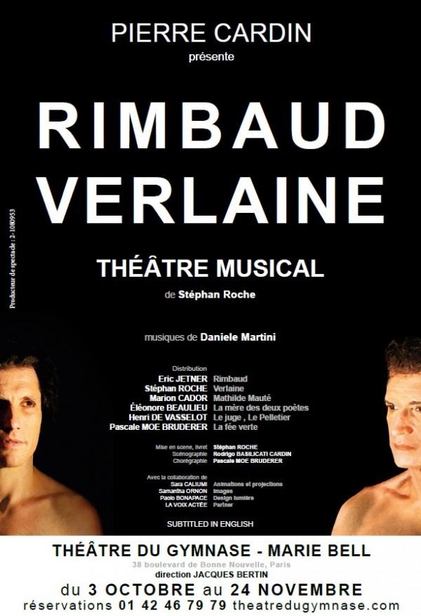 Rimbaud Verlaine au Théâtre du Gymnase