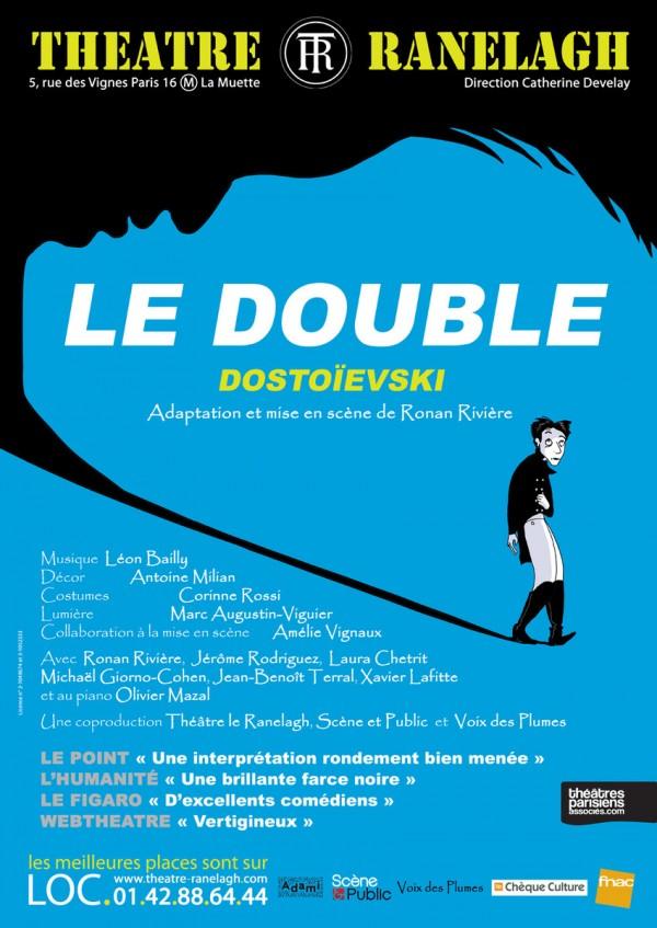 Le Double au Théâtre Ranelagh