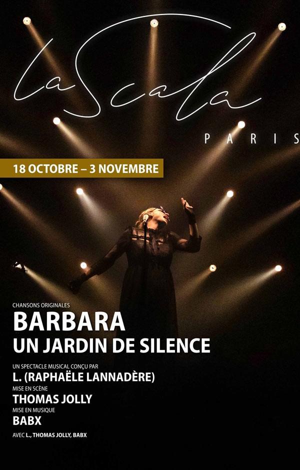 Un jardin de silence à La Scala Paris