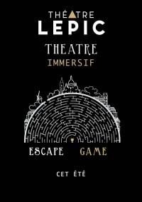 Théâtre immersif au Théâtre Lepic