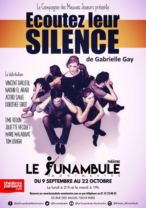 Écoutez leur silence au Funambule