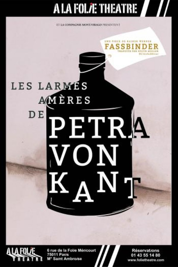 Les Larmes amères de Petra von Kant à la Folie Théâtre