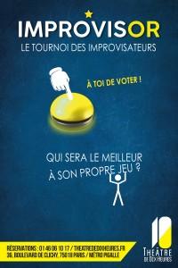 Improvisor : Le Tournoi des improvisateurs au Théâtre de Dix Heures