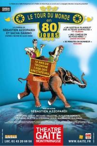 Le Tour du monde en 80 jours au Théâtre de la Gaîté-Montparnasse