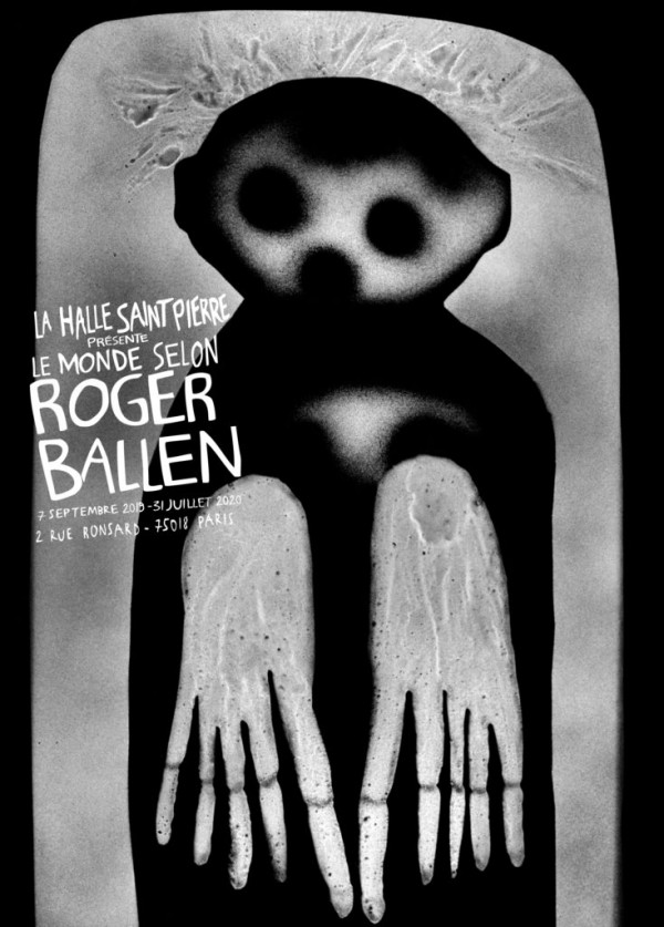 Le Monde selon Roger Ballen à la Halle Saint-Pierre