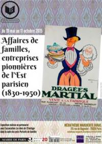 Affaires de familles : Entreprises pionnières de l'Est parisien, 1850-1950 au Pavillon de l'Ermitage