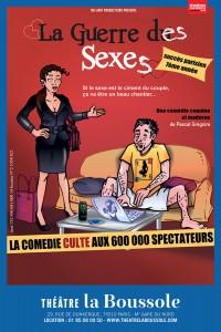 La Guerre des sexes au Théâtre La Boussole