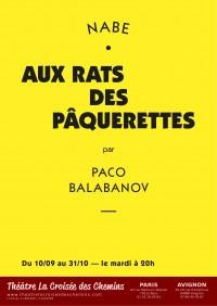 Aux rats des pâquerettes au Théâtre La Croisée des Chemins
