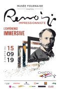 Renoir impressionniste - Affiche de l'exposition