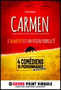 Carmen, l'humour est un oiseau rebelle !! au Grand Point Virgule