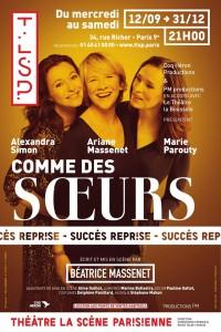 Comme des sœurs à La Scène parisienne
