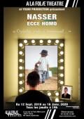 Nasser : Ecce homo à la Folie Théâtre