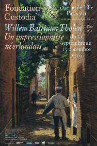 Willem Bastiaan Tholen (1860-1931) : un impressionniste néerlandais - Affiche de l'exposition