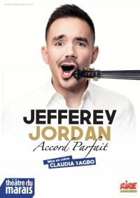 Jefferey Jordan : Accord parfait au Théâtre du Marais