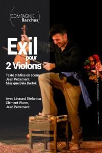 Exil pour 2 violons au Théâtre L'Essaïon