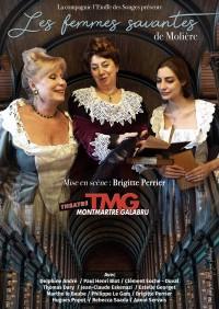 Les Femmes savantes au Théâtre Montmartre Galabru