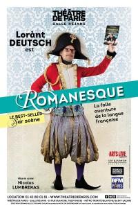 Lorànt Deutsch : Romanesque au Théâtre de Paris