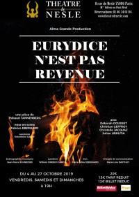 Eurydice n'est pas revenue au Théâtre de Nesle