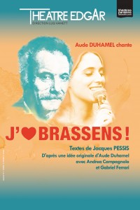 J'aime Brassens au Théâtre Edgar
