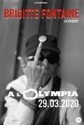 Brigitte Fontaine à l'Olympia