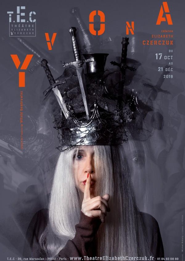 Yvona au Théâtre Elizabeth Czerczuk