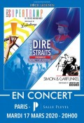 « Hommage à Supertramp, The Dire Straits et Simon & Garfunkel » salle Pleyel