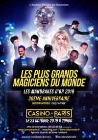 Les Mandrakes d'Or au Casino de Paris