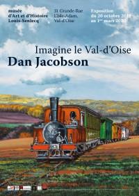 Dan Jacobson, Imagine le Val d'Oise... au Musée d'Art et d'Histoire Louis-Senlecq