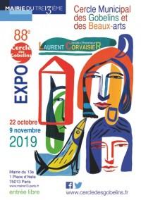 Exposition du Cercle Municipal des Gobelins et des Beaux-Arts à la Mairie du 13e arrondissement