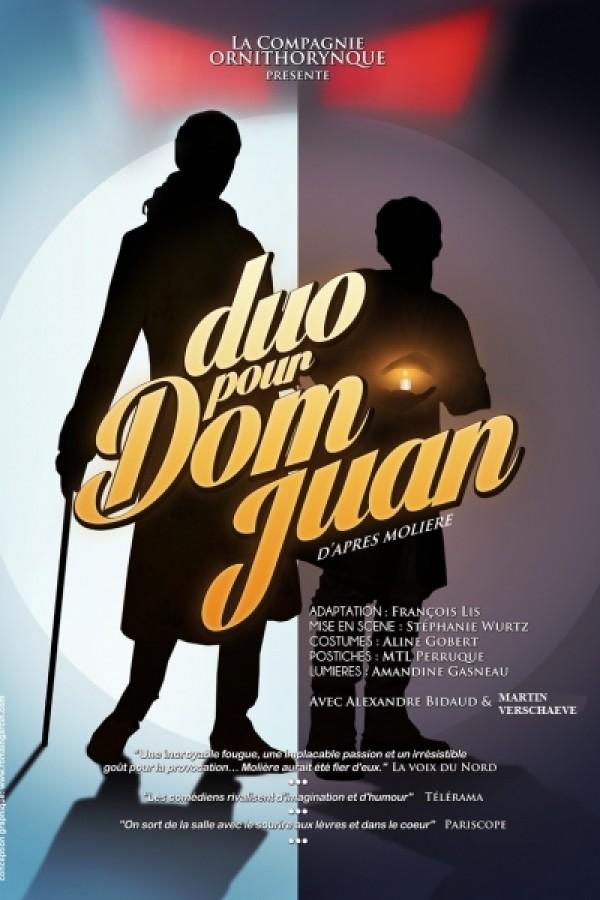 Duo pour Dom Juan au Théâtre L'Essaïon