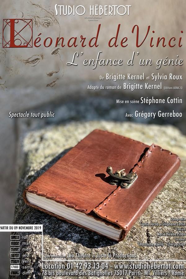 Léonard de Vinci, l'enfance d'un génie au Studio Hébertot
