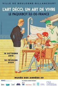 L'Art déco, un art de vivre : le paquebot « Île-de-France » au Musée des Années 30