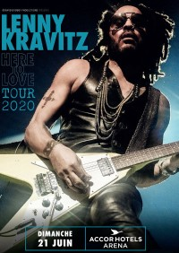 Lenny Kravitz à l'AccorHotels Arena