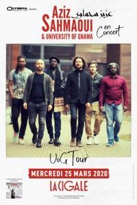 Aziz Sahmaoui & University of Gnawa à la Cigale